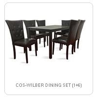 COS-WILBER DINING SET (1+6)
